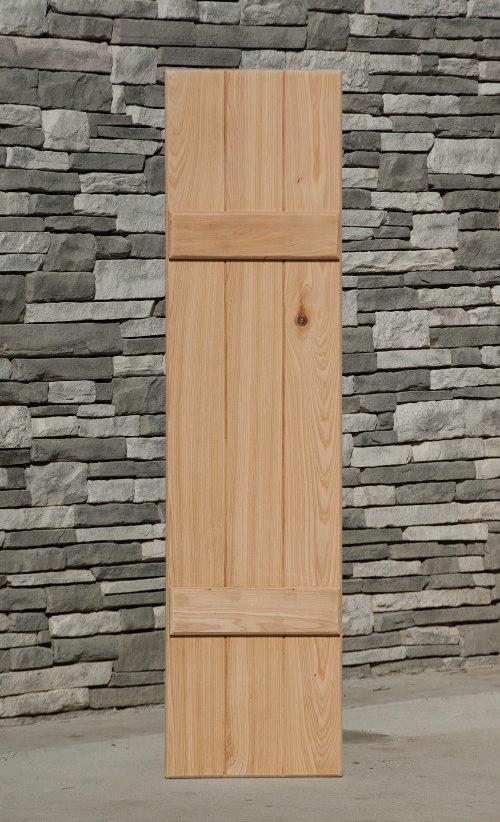 Wood Board and Batten Shutters