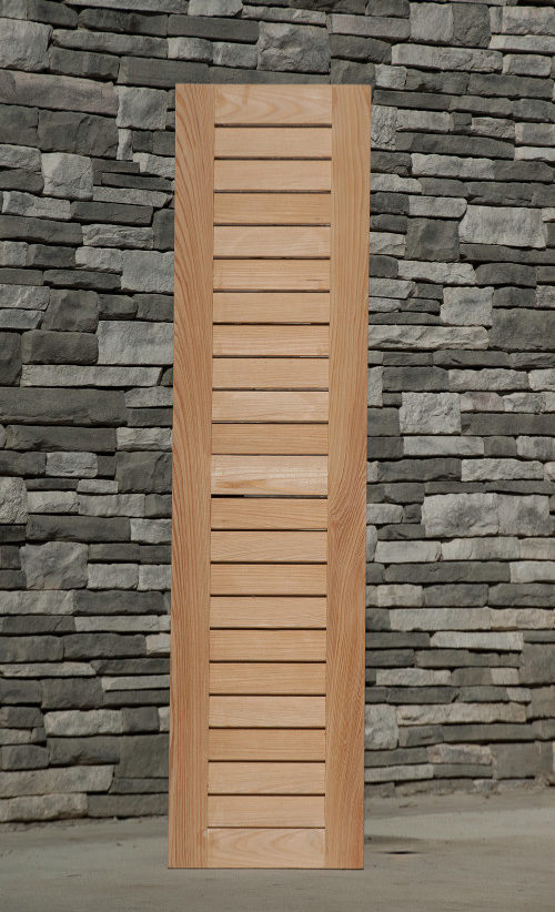 Wood Louver Shutters