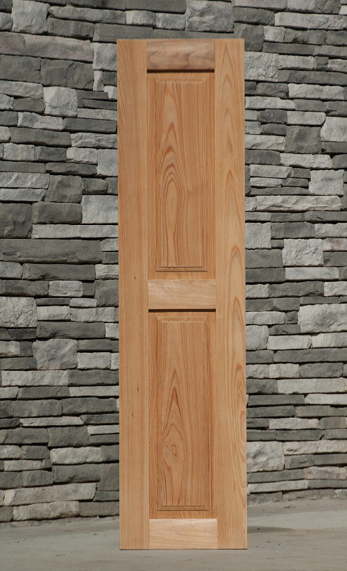 Product categories wood raised panel shutters jpc components for Exterior shutters that look like wood